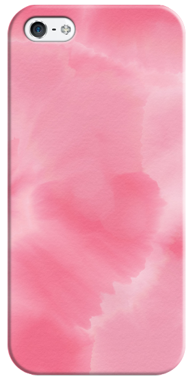 282x560 Modern Pink Ombre Watercolor Background Hand Casetify