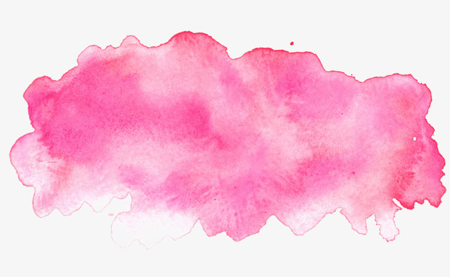 650x400 Pink Watercolor Ink, Watercolor Clipart, Ink, Blooming Png Image