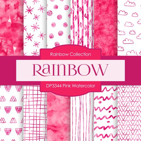 480x480 Pink Watercolor Digital Paper Dp3344 Digital Paper Shop