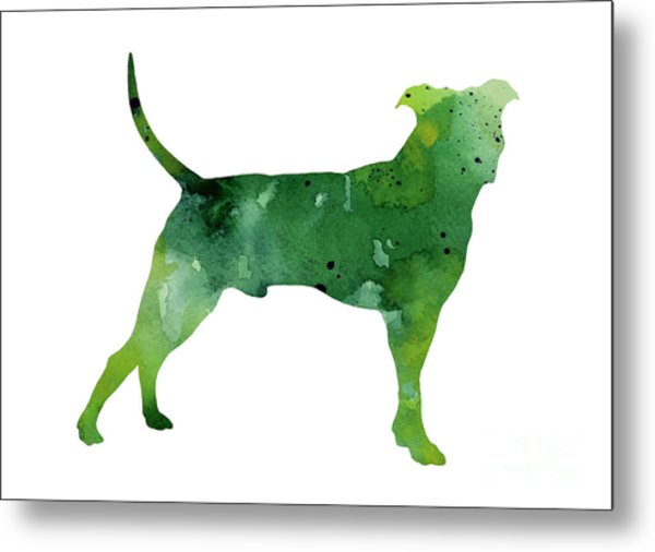Pitbull Watercolor