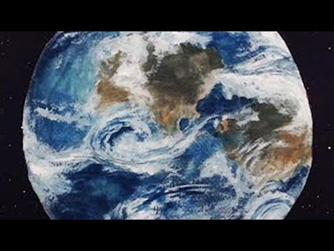 480x360 Speed Painting Planet Earth Watercolor