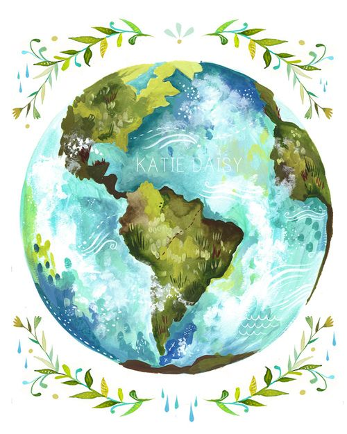 500x625 Dear Earth (By Katiedaisy) I Love The Earth! Lovins