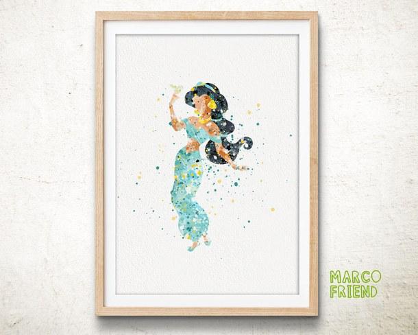 610x488 Jasmine, Aladdin