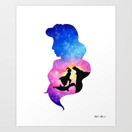264x264 Princess Jasmine Art Prints Society6