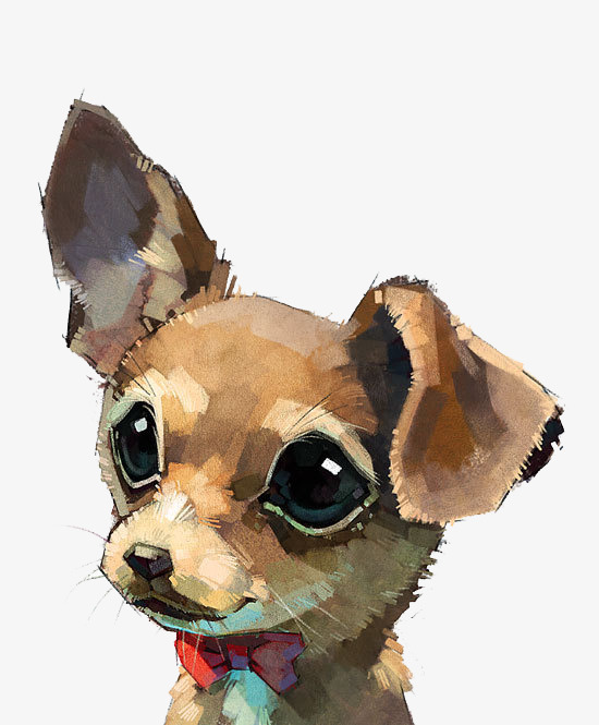 550x665 Watercolor Puppy, Watercolor Clipart, Puppy Clipart, Watercolor