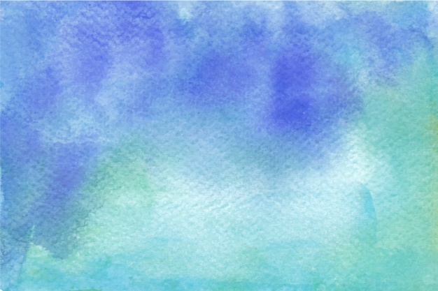 626x417 Blue And Green Watercolor Background Vector Free Download