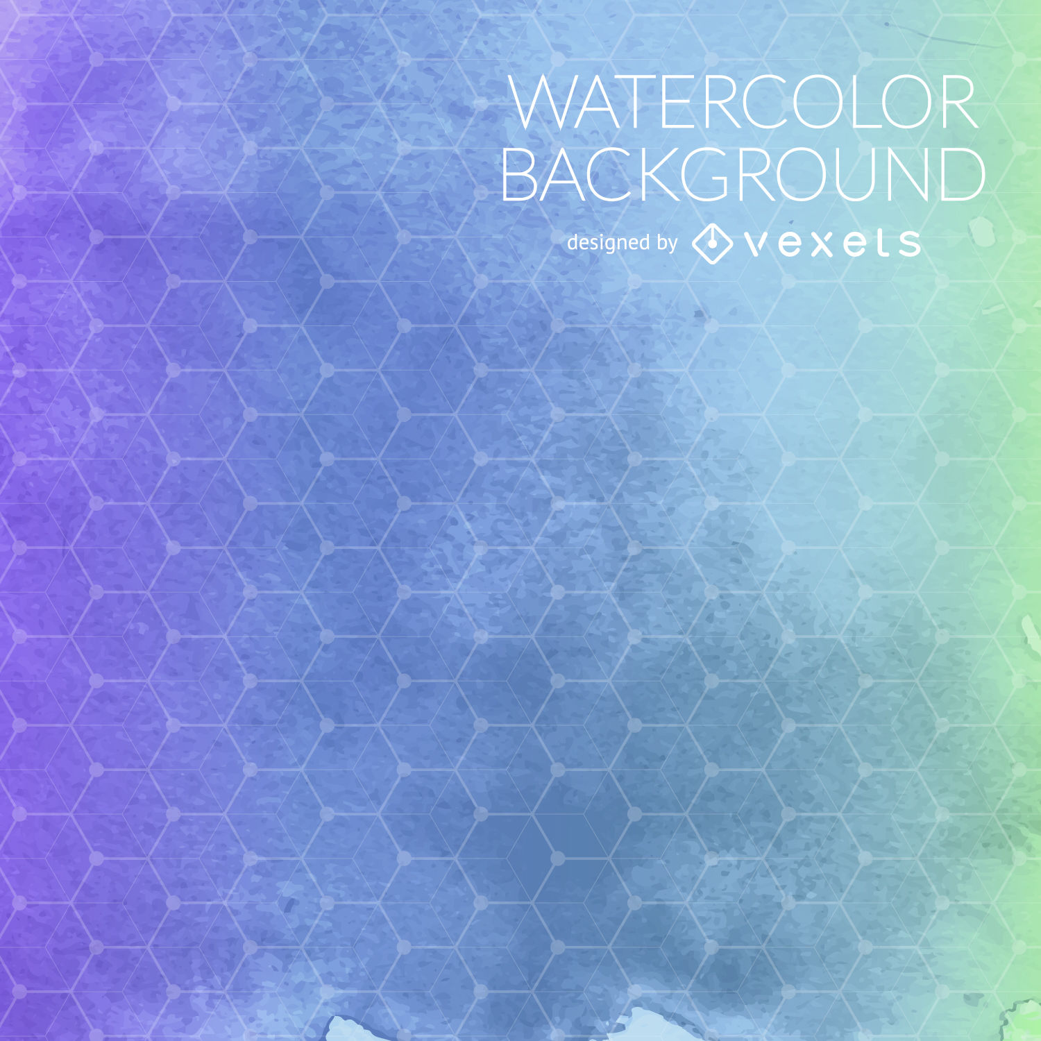 1500x1500 Purple Blue Watercolor Background Mesh