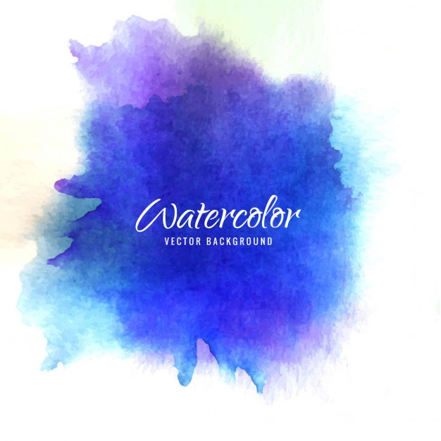 626x626 Watercolor Background Blue And Purple Vector Free Download
