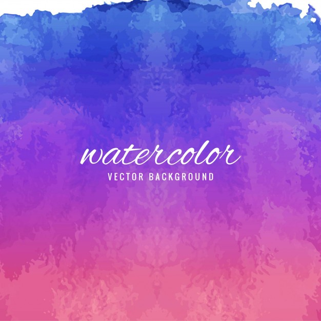 626x626 Watercolor Background In Purple And Blue Tones Vector Free Download