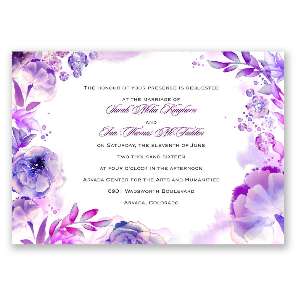 The Best Free Wedding Invitations Watercolor Images Download From