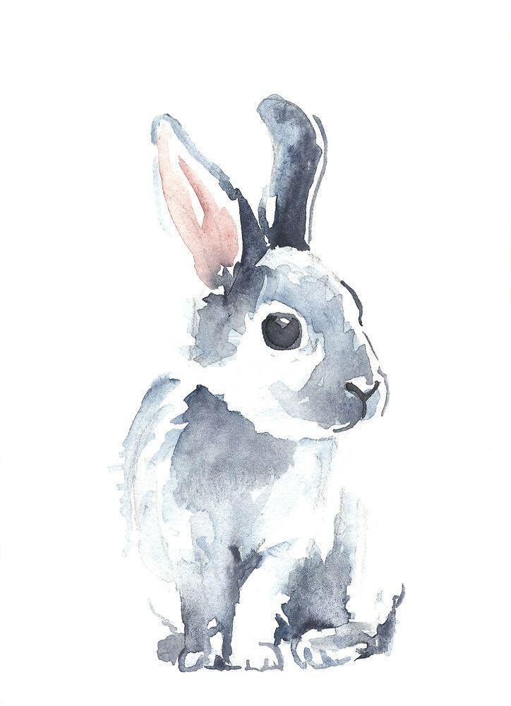 724x1000 Moon Rabbit Ii By Denise Faulkner Inspiration