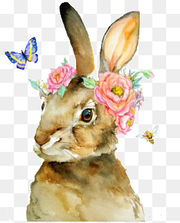 260x323 Rabbit Watercolor Png, Vectors, Psd, And Clipart For Free Download