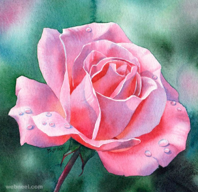 660x640 Watercolor Painting Flower 11