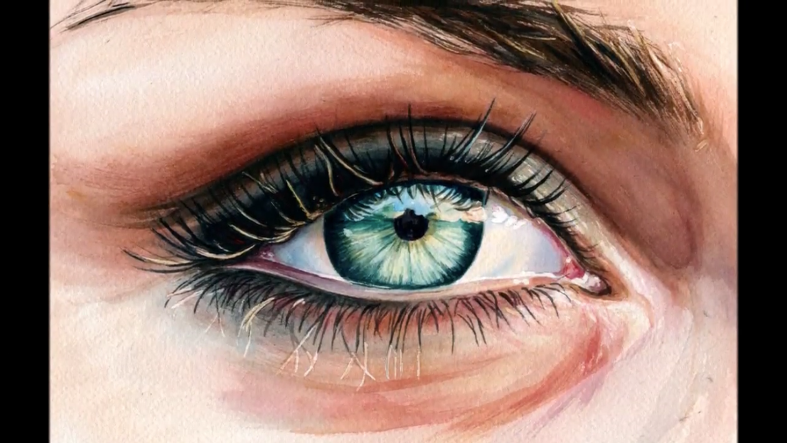 1600x901 How To Paint A Realistic Eye