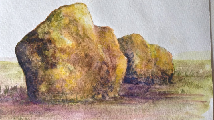 750x422 Free Watercolor Painting Video Tutorials For Beginners