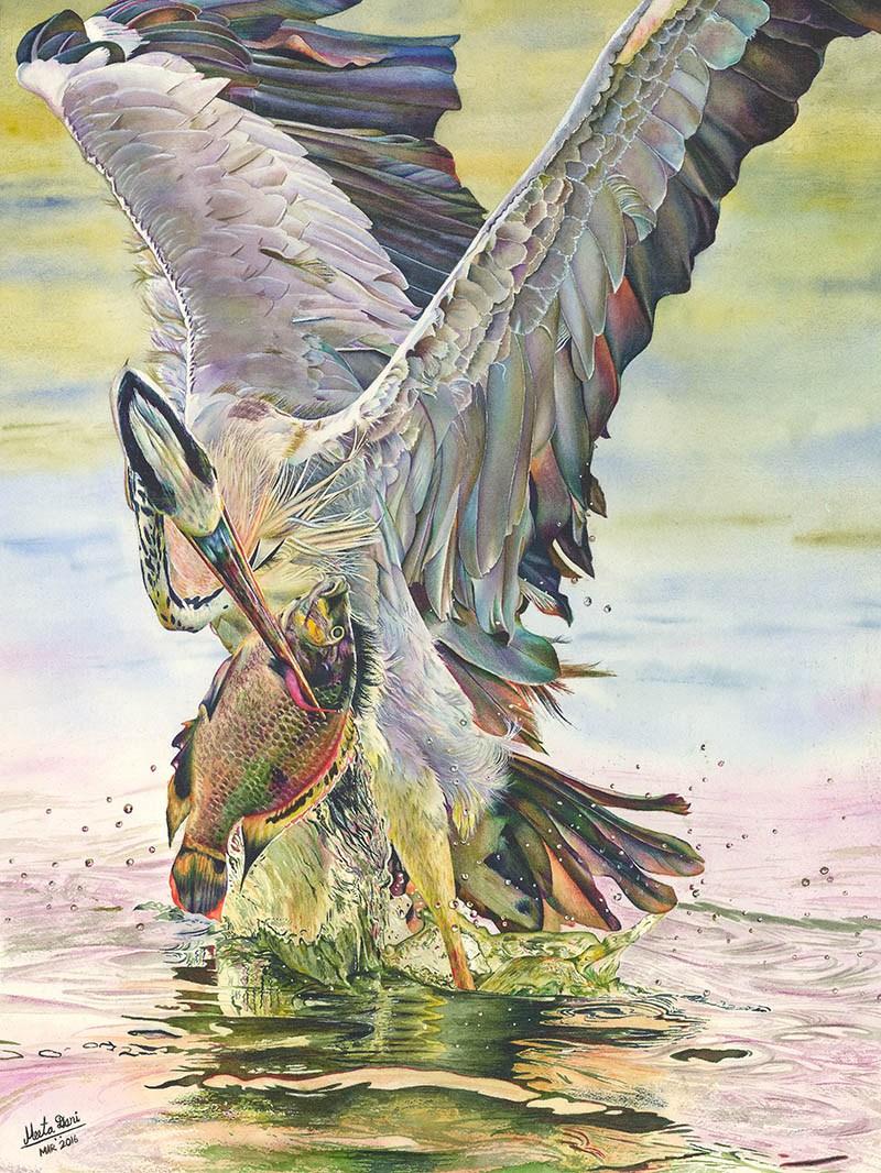 800x1066 ~ Guest Artist Photorealism In Watercolors By Meeta