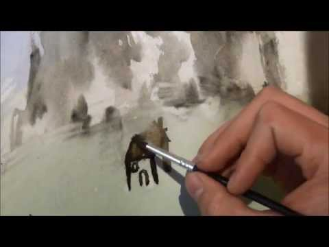 480x360 How To Draw Hyper Realistic Paintings Watercolor Tutorial (Parody