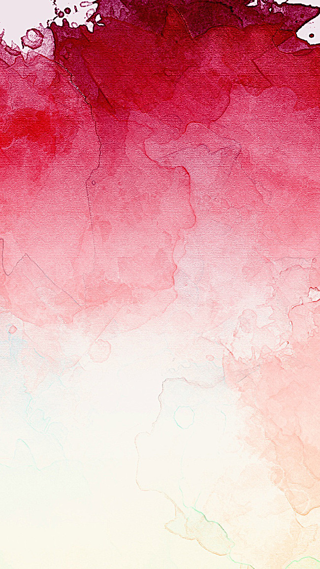 650x1155 H5 Red Watercolor Background, Red, Watercolor, Art Background