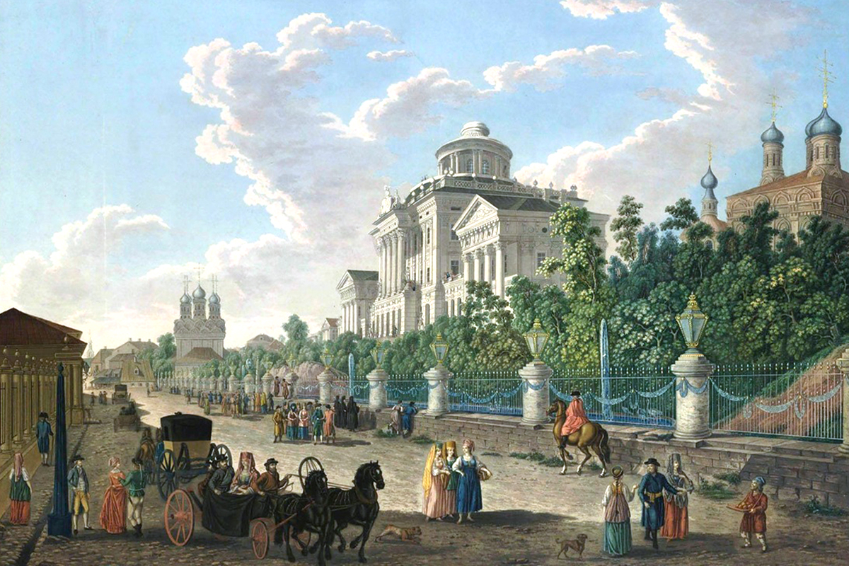 1200x800 The Moscow We Lost The Russian Capital In 18th Century Watercolor