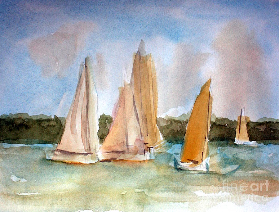 Sailboat Paintings Watercolor at GetDrawings com | Free for
