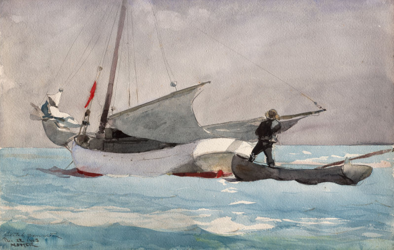 799x507 Stowing Sail The Art Institute Of Chicago