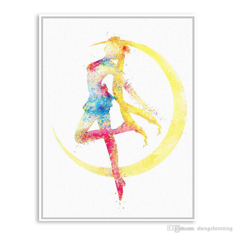 Sailor Moon Watercolor