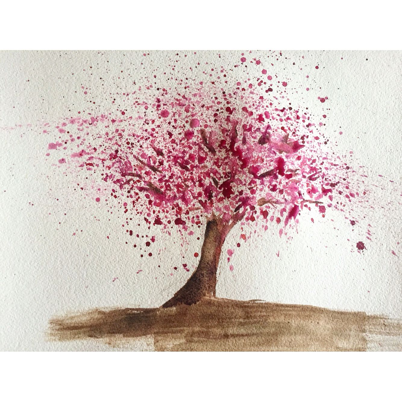1334x1334 Well It Was Meant To Be A Blooming Sakura Tree )