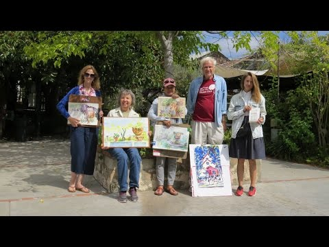 480x360 Bernardo Winery Paint Out With San Diego Watercolor Society 2016