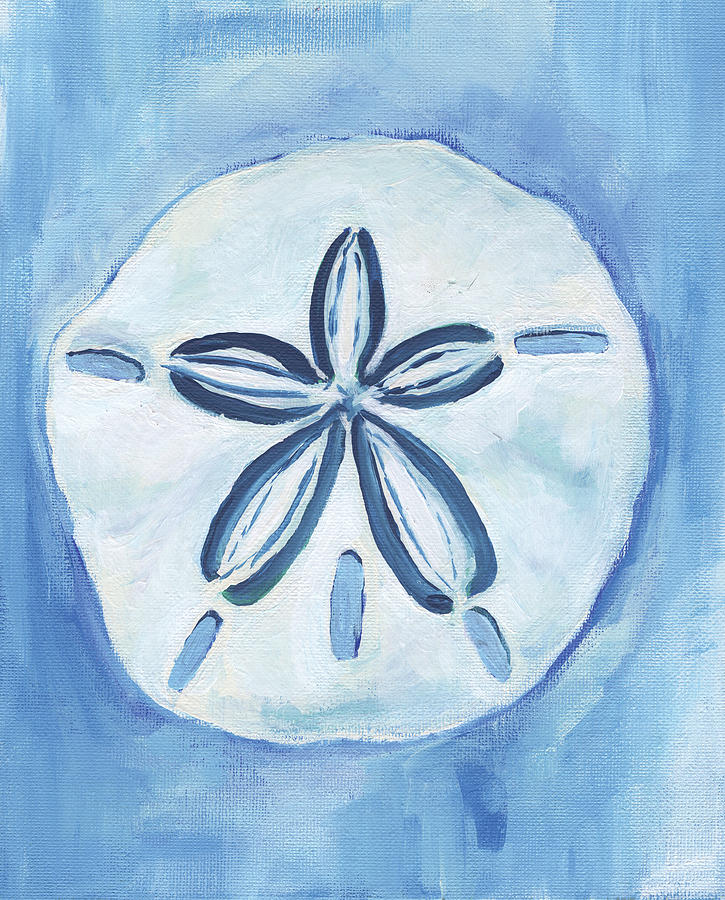 725x900 Sand Dollar Painting By Anne Seay