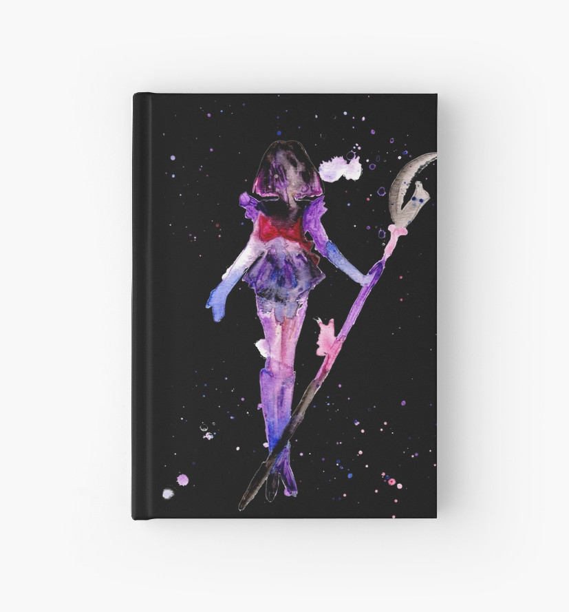 827x889 Saturn Watercolor Hardcover Journals By Shaunarae Redbubble