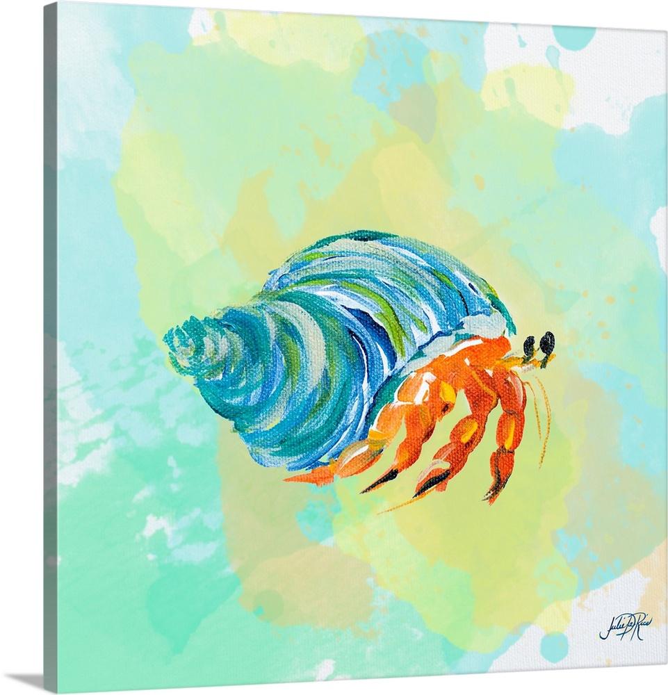 961x1000 Watercolor Sea Creatures Ii Wall Art, Canvas Prints, Framed Prints