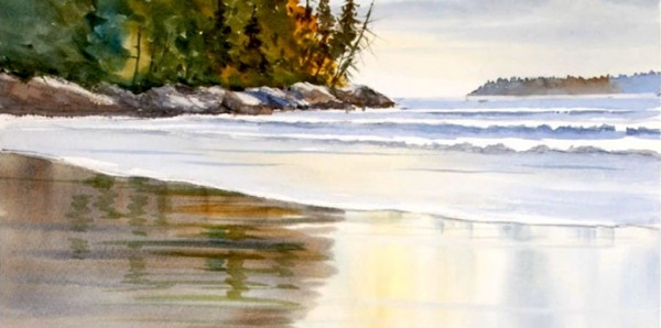 600x298 Learn How To Paint Seascapes In Watercolor With Grant Fuller