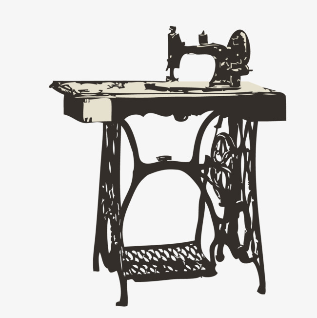 650x651 Realistic Watercolor Sewing Machine, Watercolor Vector, Watercolor