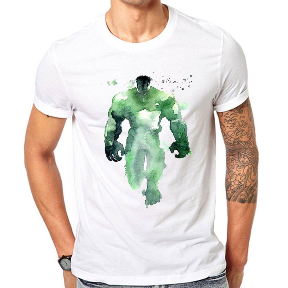 1000x1000 Hulk Inspired Watercolor T Shirt Gullprint Gullprint