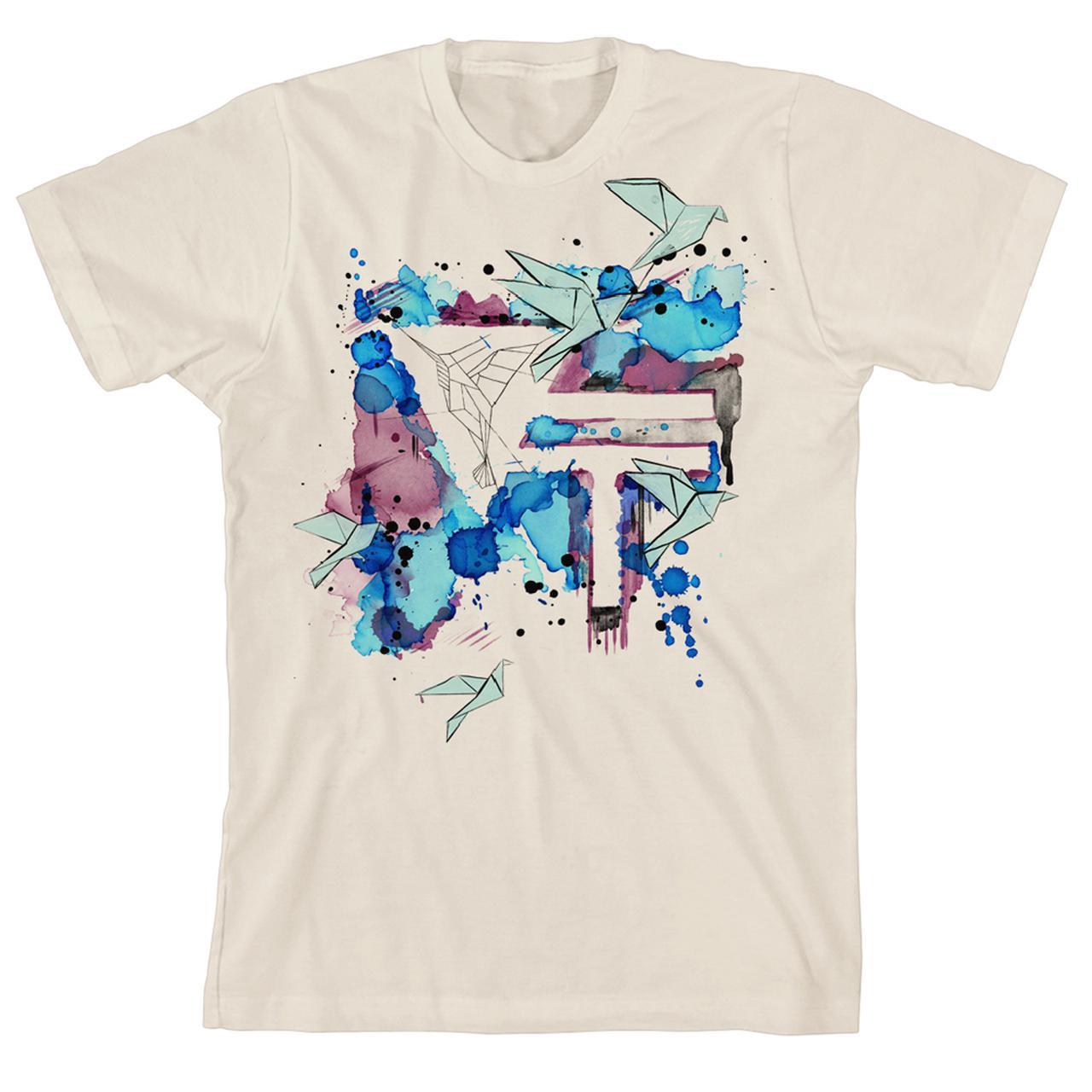 1280x1280 Vinyl Theatre Watercolor T Shirt
