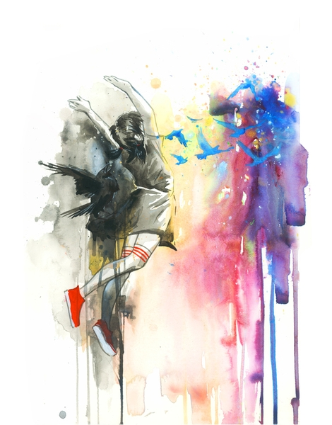 470x600 Watercolor T Shirt Designs By Artists Worldwide
