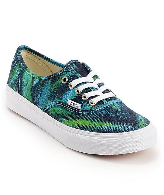 a5c685b109 540x640 Vans Authentic Slim Watercolor Shoes Zumiez