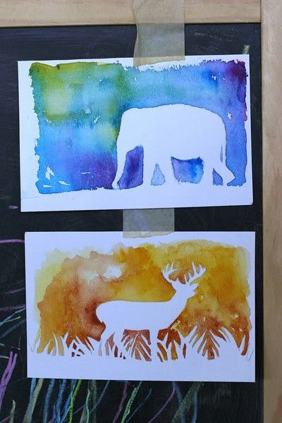 400x600 32 Easy Watercolor Painting Ideas Craft Ideas