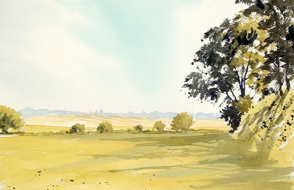 600x388 Painting Landscapes In Watercolour Arttutor