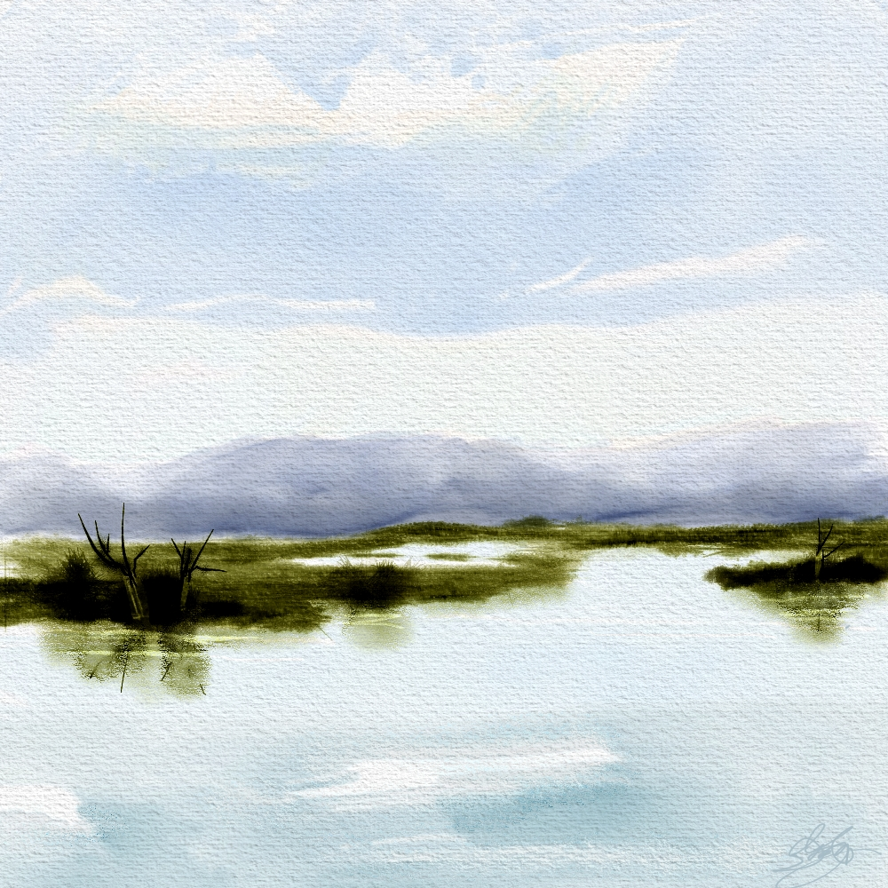 1000x1000 Simple Landscape Final Skip Allen Paints