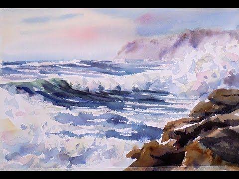 480x360 Acuarela Facil 110 Bruma Pintando Con Juan Mieres