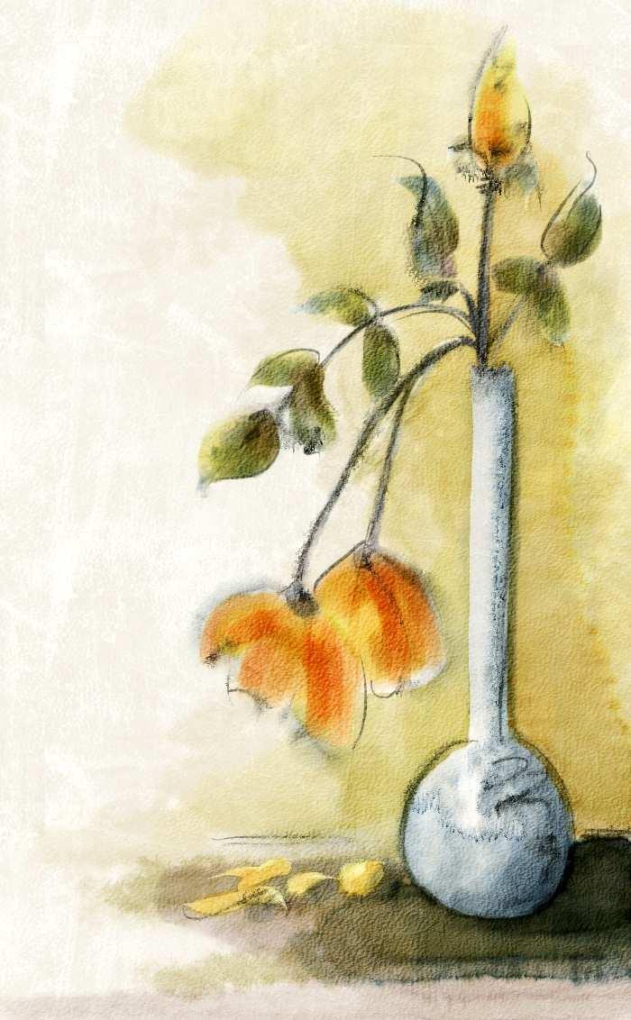 700x1132 Simple Watercolor Painting Elegant Corel Painter 12 Demo Real