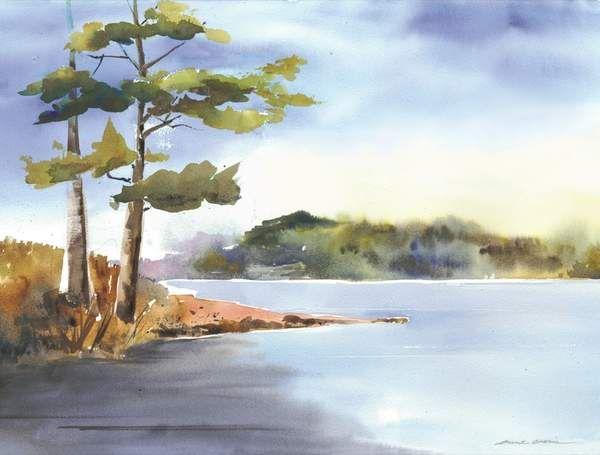 600x455 Easy Watercolor Paintings Of Nature Cronin Watercolors