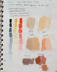 Skin Color Watercolor