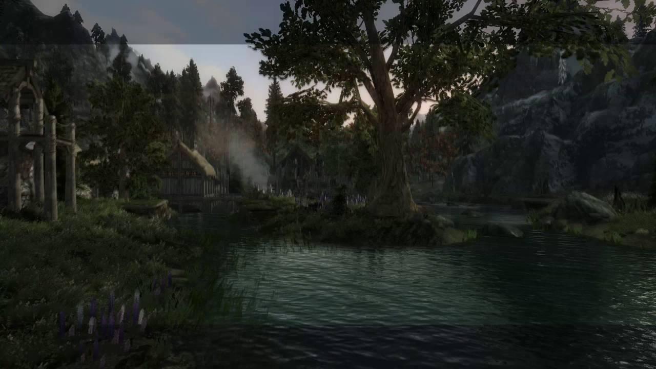 1280x720 Skyrim Graphics Vanilla Vs Rudy Enb + Realistic Water Two +