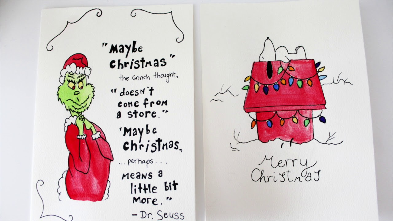1280x720 The Grinch And Charlie Brown Christmas (Snoopy)