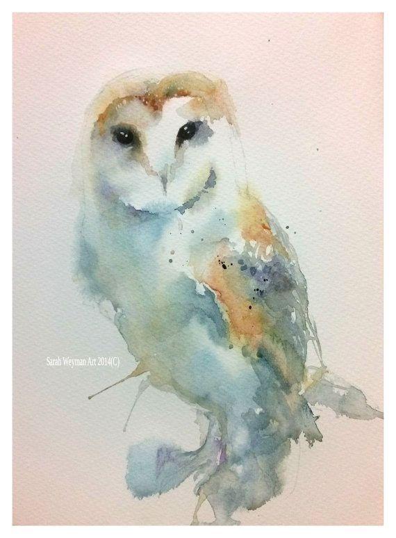 570x774 Barn Owl By Sarahweymanart On Etsy Weyman Artworks