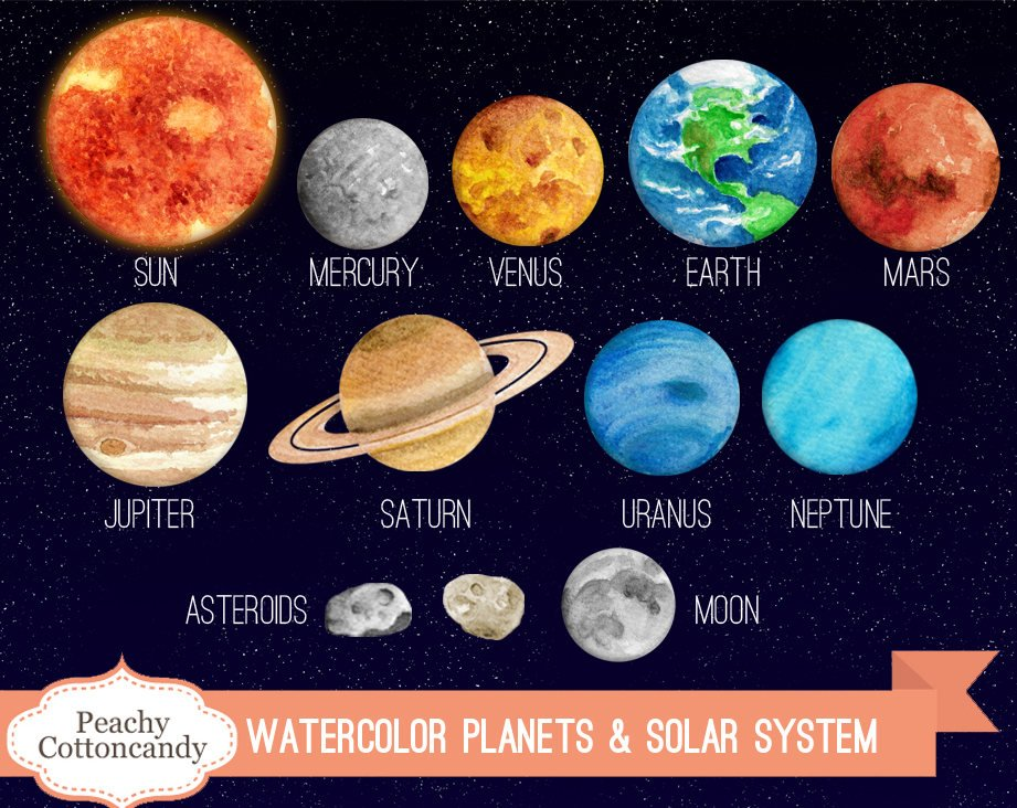 921x732 Collection Of 14 Free Solar System Clipart Science Barbed Wire