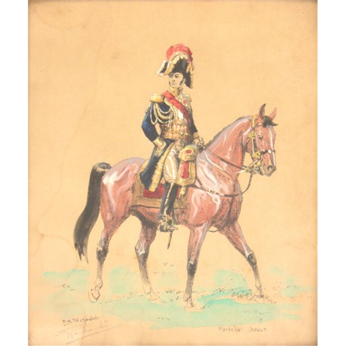 1200x1200 Eugene Pechaubes Soldier Watercolor