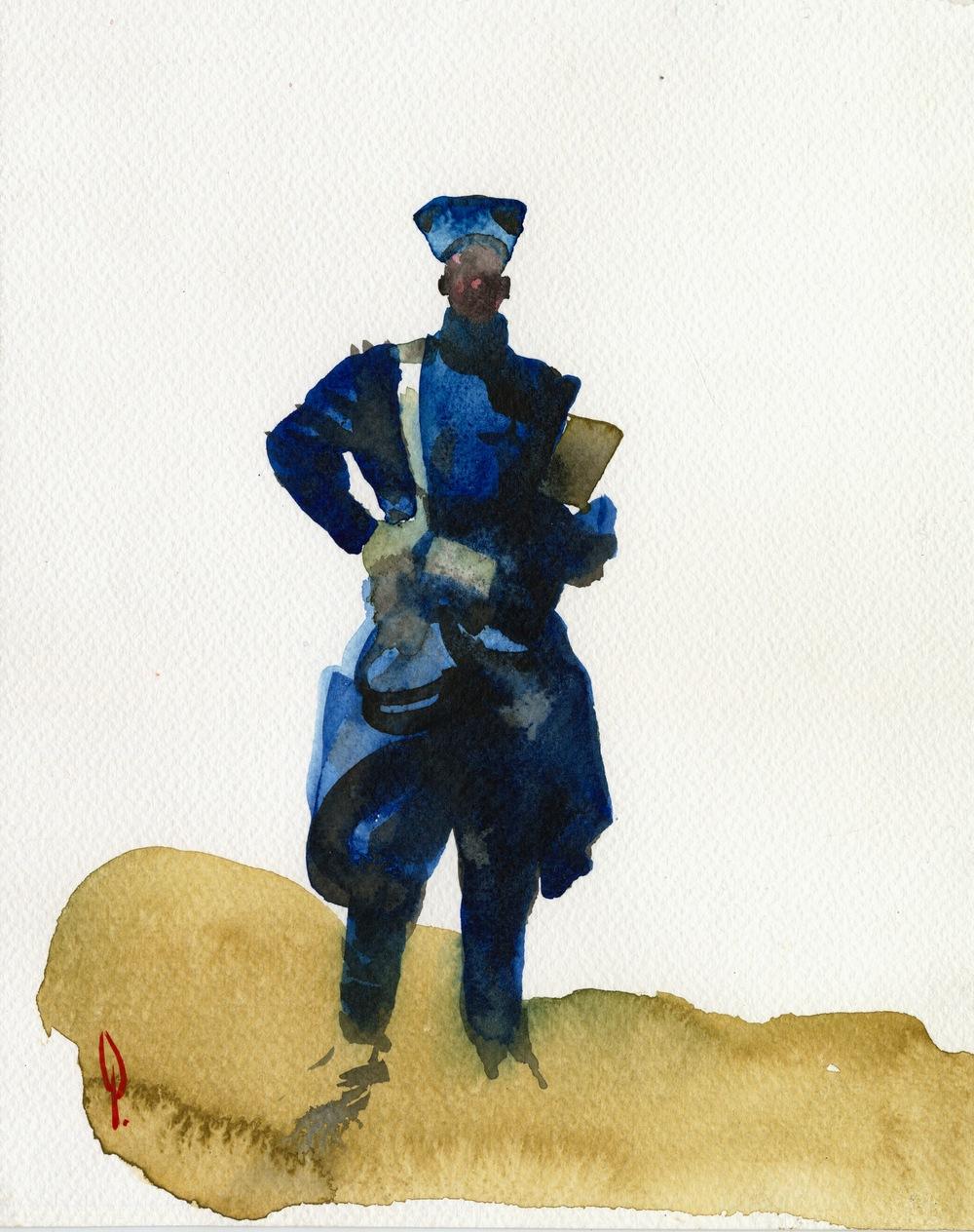 1000x1264 Ethiopian Soldier George Pratt